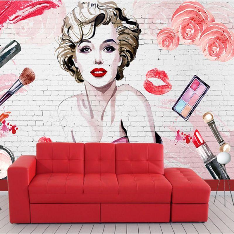 Fashion Marilyn Monroe Wallpaper Custom