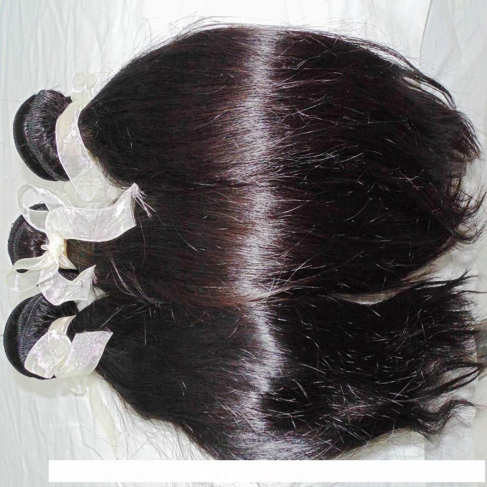 H 3 Bundles Mix Lengths Only 8a Virgin Hair Filipino Natural Silky Straight Weave Bundles Long Term Business Forever