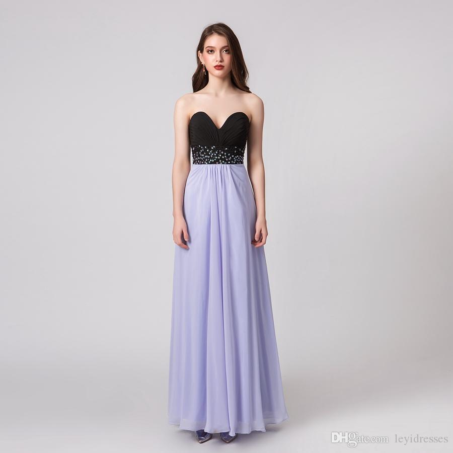 Великолепные блестящие без бретелек линии элегантные вечерние платья из шифона бисером платье Pageant знаменитости платья на заказ вечерние платья D86