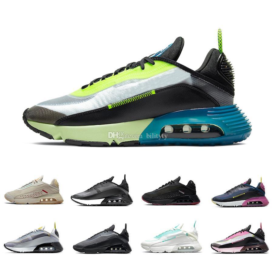 Nike air max 2090 airmax Stock X Duck Camo 2090 Mens Running shoes Clean White Black 2090s Pure Platinum Photon Dust men women Outdoor Run sports designer sneakers