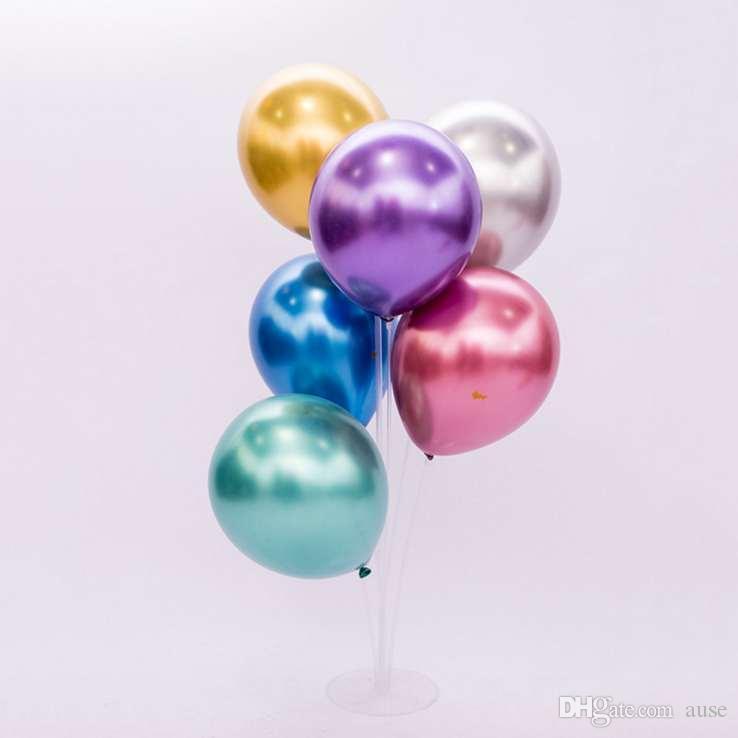 12-дюймовый металлический латексные шары набор детей игрушки Воздушные шары Мода Свадебные украшения высокого качества Надувные воздушные шары падения Доставка