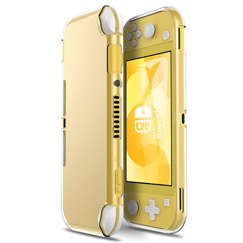 Shockproof TPU Transparent Crystal Soft Protective Case for Switch Lite