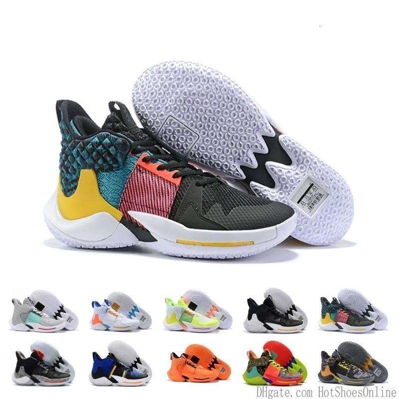 Venta caliente por qué no Zer0.2 Russell Westbrook 0.3 2.0 zapatos de baloncesto Imagen Espejo Ii Dos Hombres Zero.2 una se divierte zapatillas de atletismo