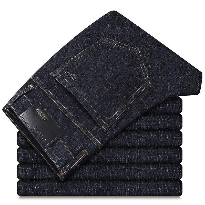 2021 pantaloni casual uomo nero Elasticità Uomo Slim regolare in stile coreano misura la molla di nuovo stile di tendenza pantaloni maschili