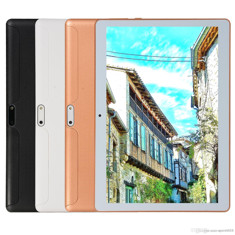 1шт Android OS 8.1 Система 3G WCDMA Tablet PC 10,1-дюймовый IPS дисплей MTK6797 2.0MP камера 6G 64G 4000mah GPS Wi-Fi Bluetooth