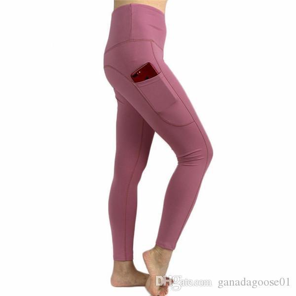 Femmes Yoga Pantalons Sport Leggings Surdimensionné Respirant Dame Jogger Pant Avec Poche Slim Fitness Pantalon Sportswear Plus La Taille