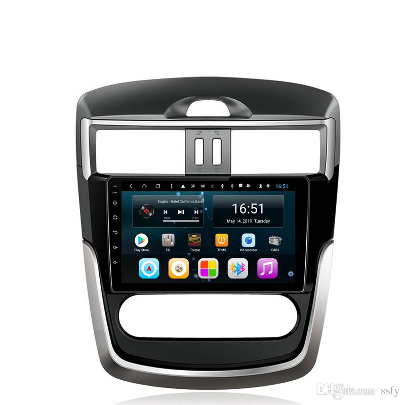 Android car radio with excellent bluetooth free map resolution HD 1024 * 600 lossless music microphone for Nissan new tiida 9inch