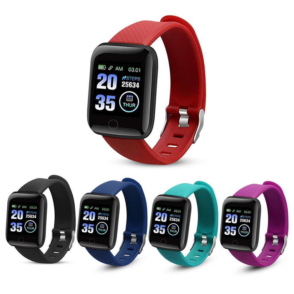 Fashion 116 Plus Heart Rate Smartwatches Bracelets D13 Smart Watch Smart Wristband Sports Watches Smart Band Waterproof Android Smartwatch