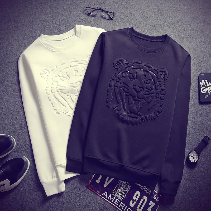 Herren Hoodies Sweatshirts Chic Pullover für Männer Mode Druck Stil Frühling Hoodie Herren Casual Pullover Mit Kapuze Baumwolle Streetwear A27