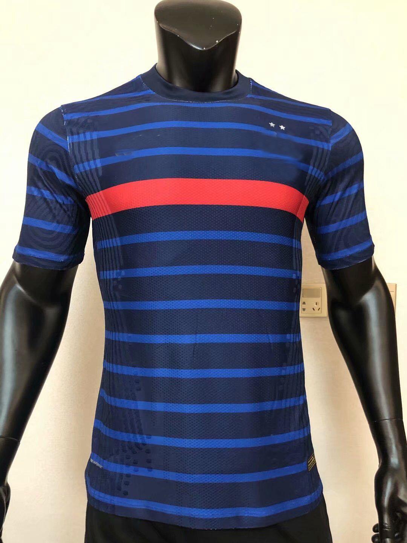 2020 2021 Fracne Player version Soccer Jerseys KANTE MBAPPE French 20 21 football Player shirt