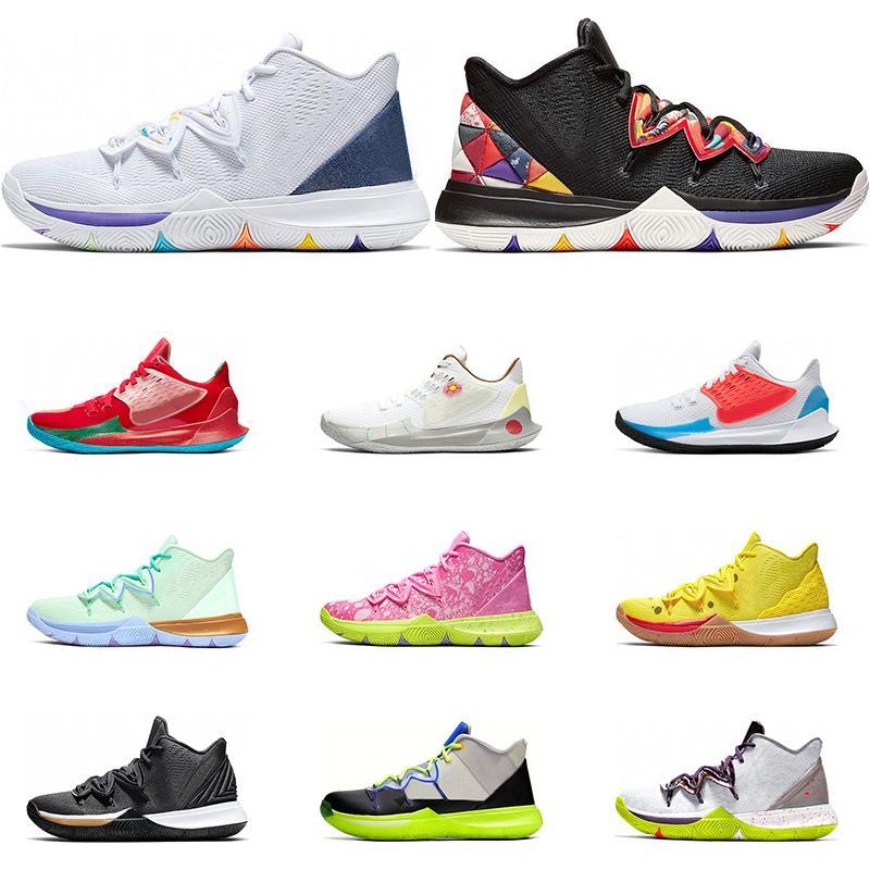2020 Новый Мужчины баскетбол обувь черный белый многоцветный Metallic Gold Знакомые День Mamba Ментальность атлетического спорта кроссовки размер 7-12