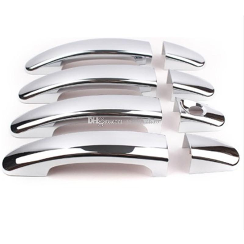 For focus focus 2 focus 3 2005-2011 2012 2013 ABS Chrome Trim Door Handle Covers اكسسوارات السيارات