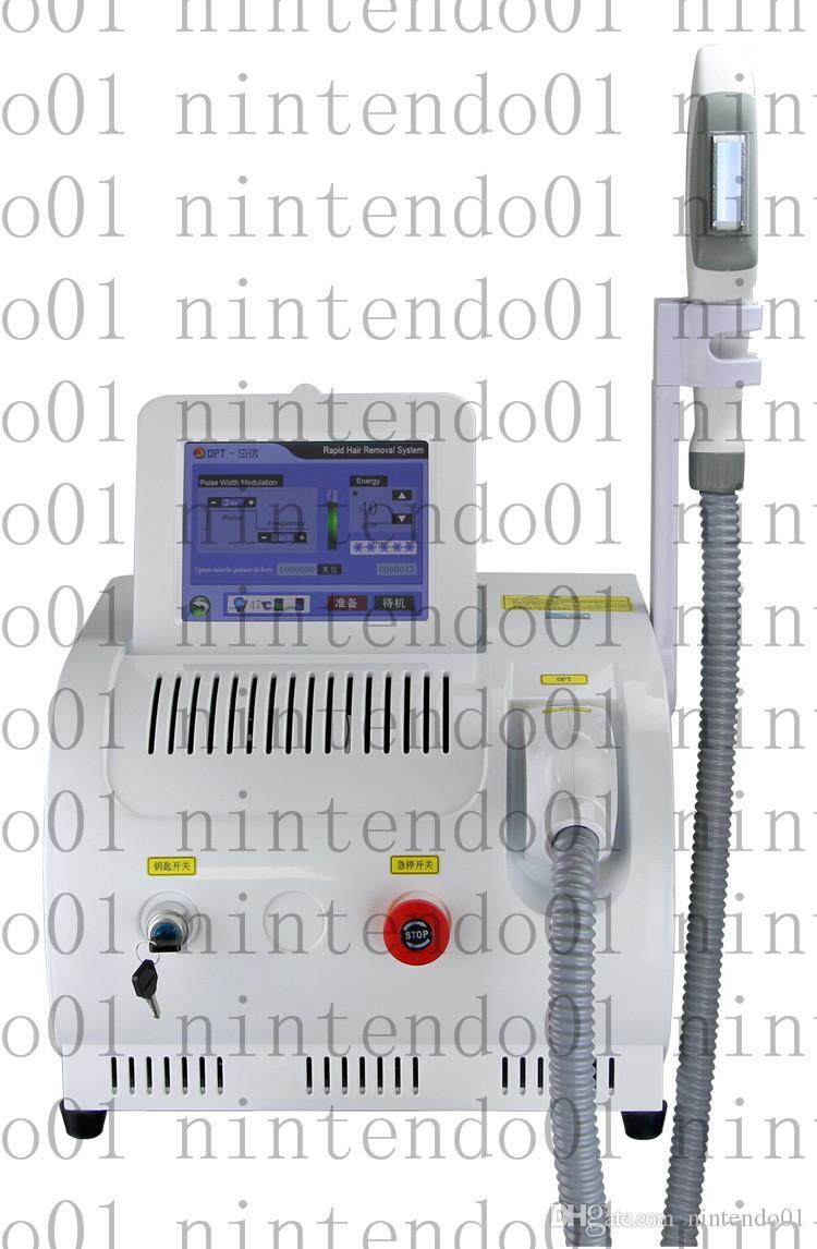 Novo popular OPT SHR equipamentos de salão de beleza do laser novo estilo SHR IPL cuidados com a pele OPT RF IPL remoção de cabelo máquina de beleza Elight Rejuvenescimento Da Pele