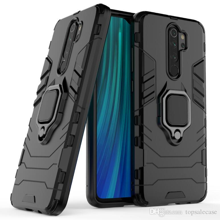 Para Xiaomi redmi Nota 8 Pro Case New laço fresco robusto Combo híbrido Armadura Impacto Capa protetora para Xiaomi redmi Nota 8 Pro