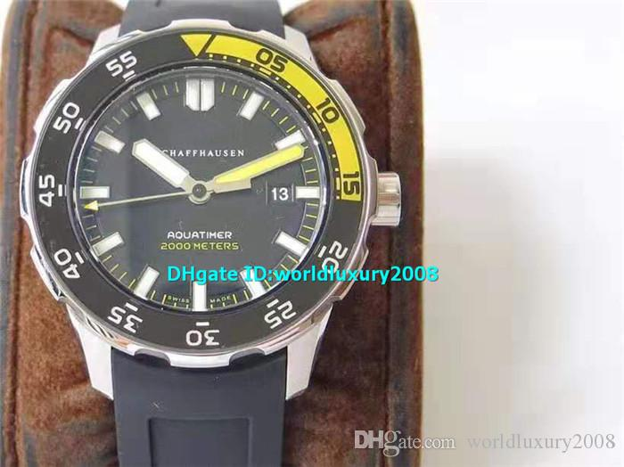 Top Designer 44mm Reloj para hombre ETA2892 Reserva automática de energía de 42 horas Reloj de pulsera súper luminiscente de cristal de zafiro resistente al agua 100m