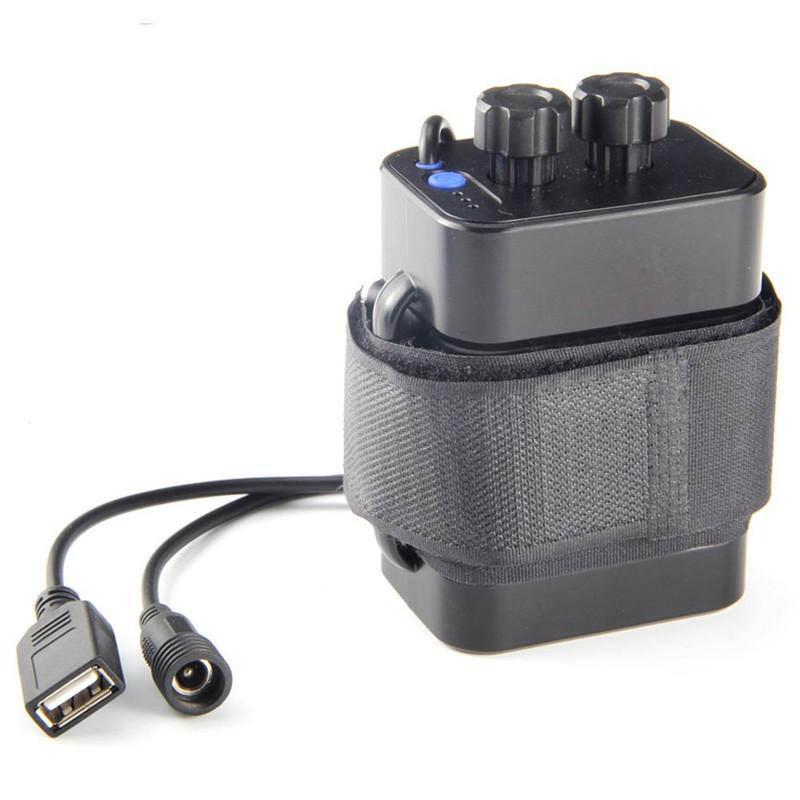جديد 8.4V محمول مقاوم للماء 18650 بطارية الحالة 6 × بطاريات التخزين حامل غطاء صندوق بيت للدراجات دراجة مصباح
