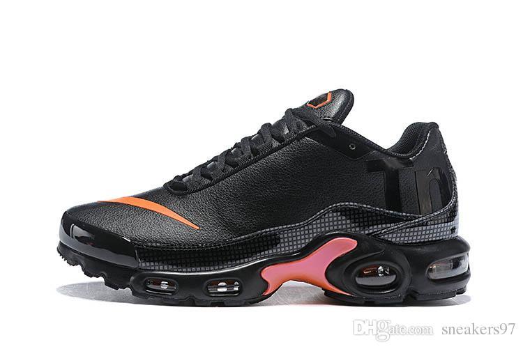 Großhandel 2019 Nike Air Max Airmax AIRMAX Plus TN Running Shoes Air Mercurial Plus Tn Ultra SE Schwarz Weiß Blau Braun Outdoor Schuhe Outdoor TN