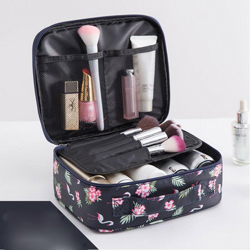 2019 Zipper homme femmes nylon sac de maquillage cosmétiques sac cas Make Up Organisateur kits sac de toilette Stockage de lavage Voyage Pouch