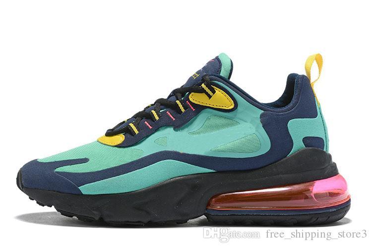 Koşu Ayakkabıları tepki bauhaus hiper pembe parlak menekşe Renkli siyah ve kapalı noir erkekler koşu ayakkabıları atletik sneakers ...
