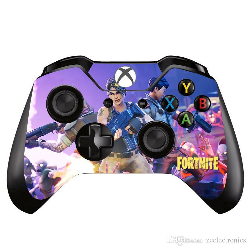 2019 Fortnite Design Gamepad Joystick Skin Sticker Decal For Xbox One Controller Pvc Vinyl Sticker Protector Decorations From Zcelectronics Price