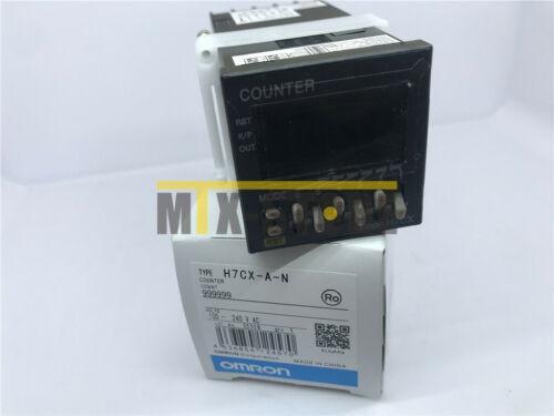 ONE OMRON новый счетчик H7CX-A-N (H7CXAN) 100-240