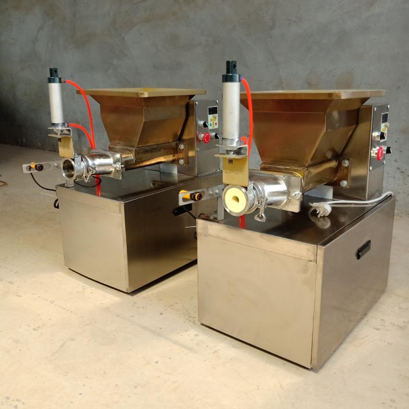 400W elektrikli kesme makinesi hamur, hamur dolum peynir indüksiyon prob pnömatik hassas kesme için kesme makinası hamur
