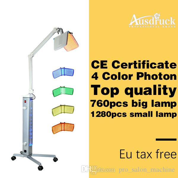 EU belastingvrije professionele bio licht therapie foton led huid verjonging acne behandeling PDT gezichtsverzorging machine schoonheidssalon apparatuur