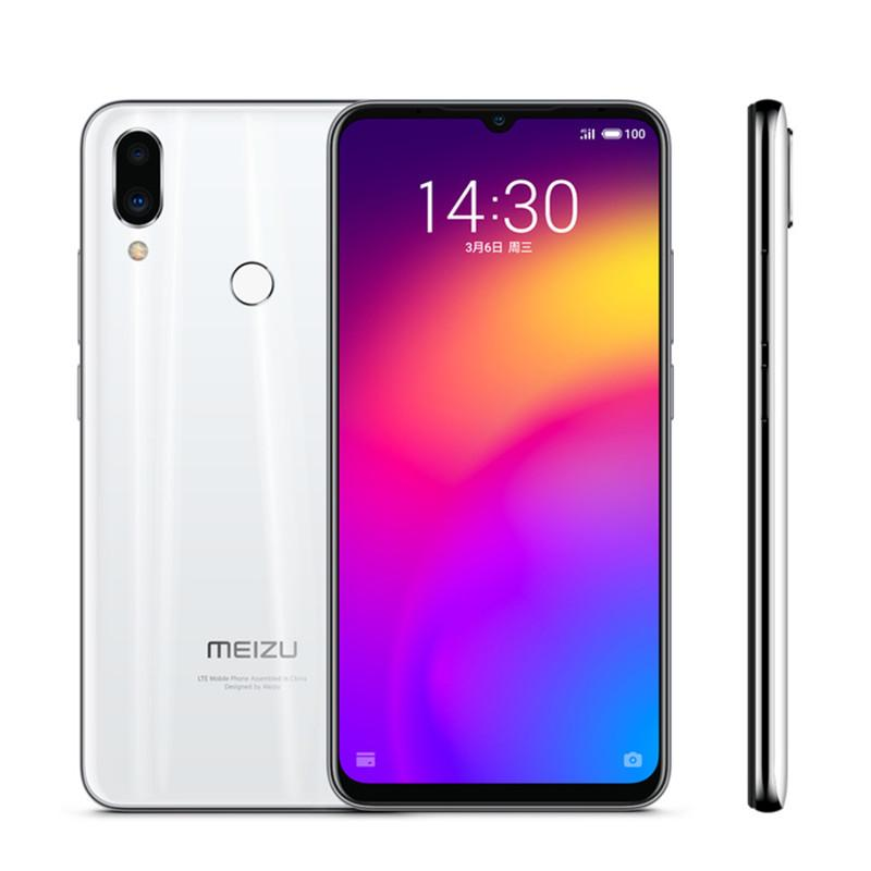 "Meizu original Nota 9 4G LTE teléfono celular de 6 GB de RAM 64 GB ROM Snapdragon 675 Octa Core Android Teléfono de la huella digital 48MP ID móvil 6.2"" pantalla completa"