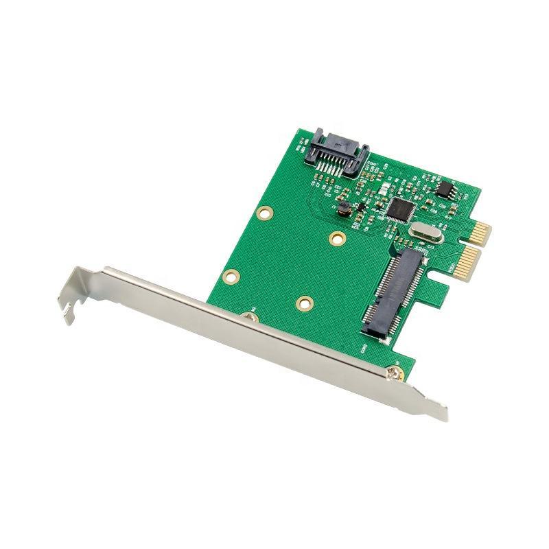 PCI-E SATA 3,0 Desktop SSD жесткий диск Expansion Card PCIE для mSATA адаптер карты м SATA на PCI Express сата карты