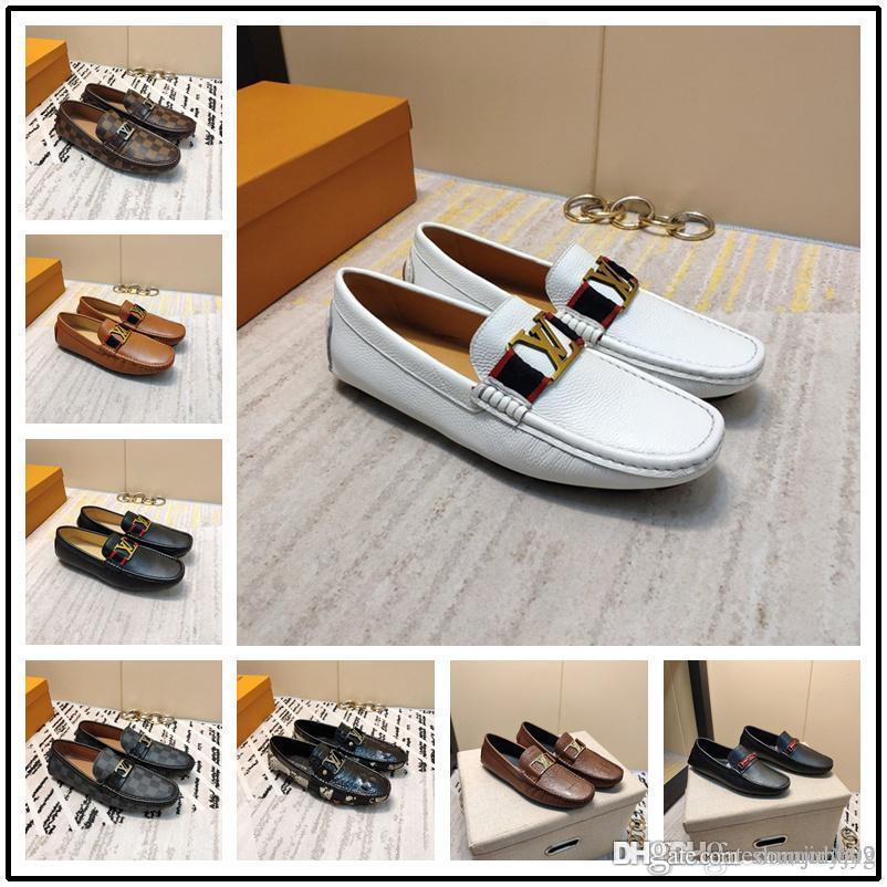 Mens Bullock chaussures en cuir véritable marque hommes noirs chaussures partie robe de mariée tissage d'affaires Chaussures en cuir