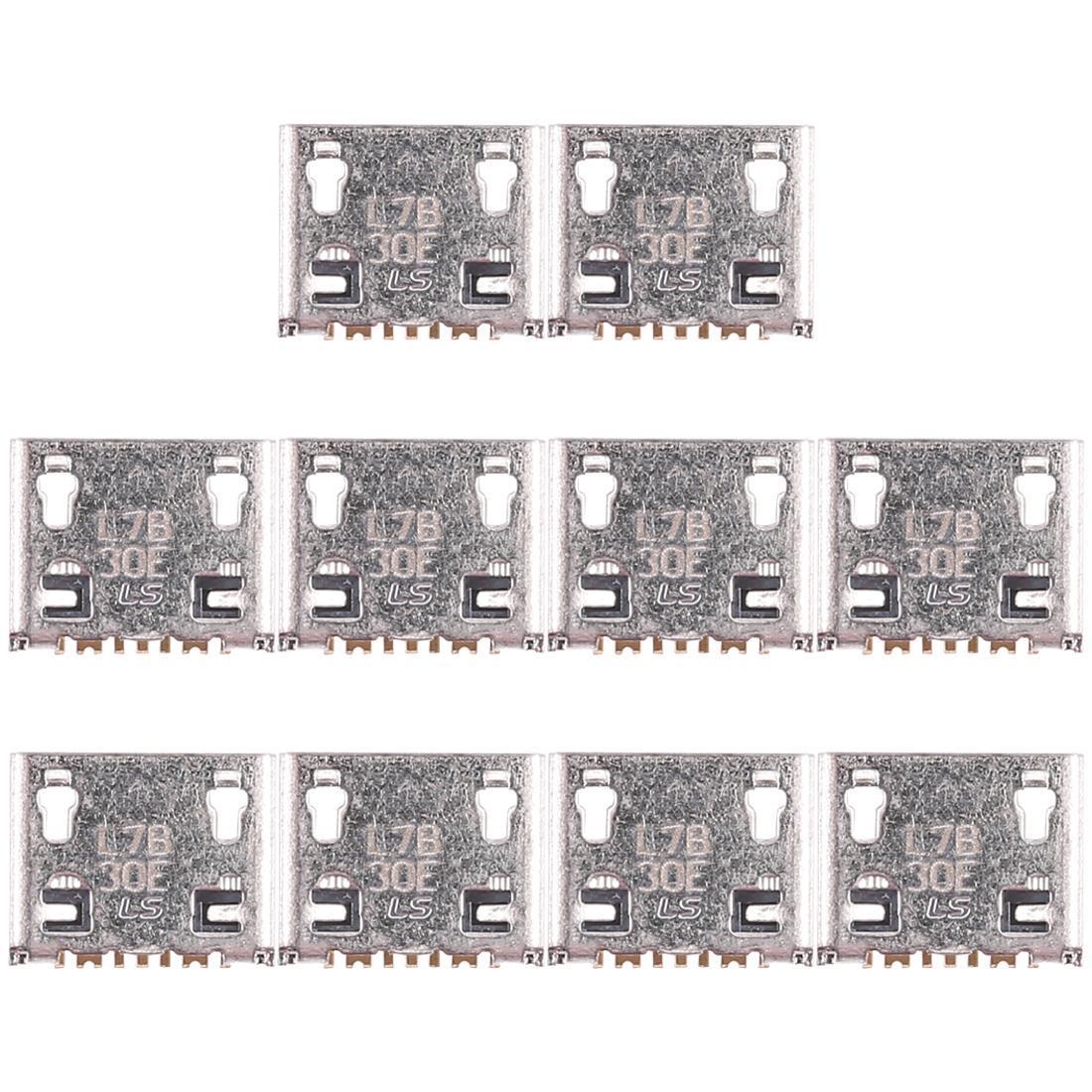 10 PCS de carga del puerto conector para Galaxy J1