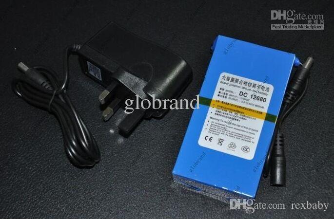 GLL288 12V بطارية ليثيوم قابلة للشحن لكاميرا CCTV 6800mAh