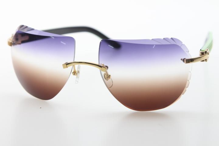 공장 도매 선글라스 8200763 블랙 믹스 그린 판자 안경 디자인 2020 핫 무테 선글라스 새로운 쉴드 광학 남여