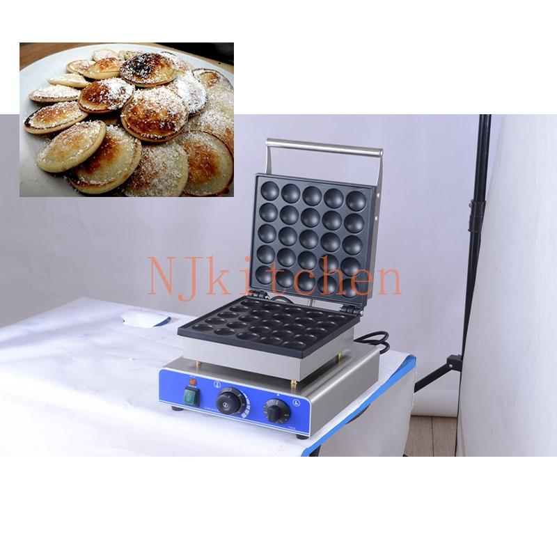 Ücretsiz Kargo Endüstriyel Hollandalı Poffertjes Yapma Makinası 110v 220v Mini Gözleme Gill dorayaki Pan Pişirme Kalıp Demir
