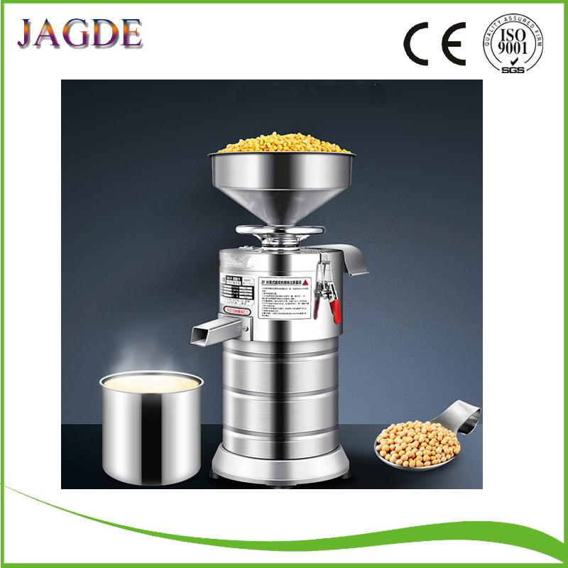 220V Refiner Soyamilch-Hersteller Gewerbe automatische Sojamilch Fiberizer Sojamilch Maschine Dregs Separater Splitter zum Verkauf