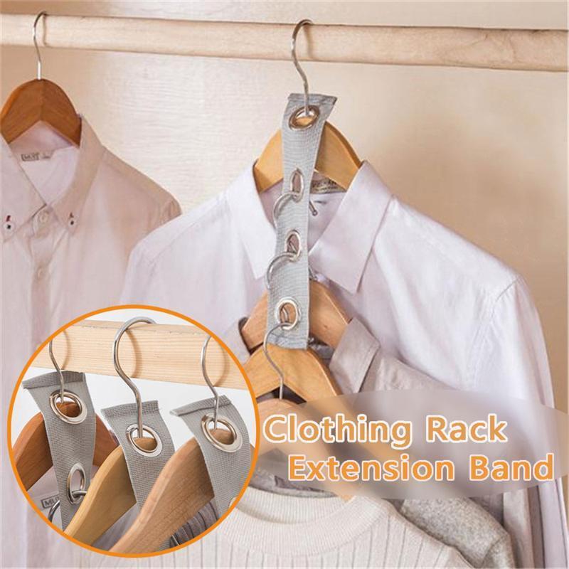 Uzatma Bağlantı Giyim Çanta askısı toka yerden tasarruf Asma Bandı Dört delikli Bağlantı Raf