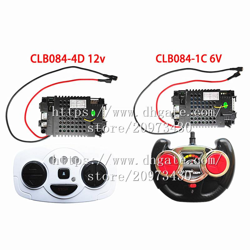 CLB084-4D children's electric car 2.4G remote control receiver controller,12V and 6V CLB transmitter for baby car