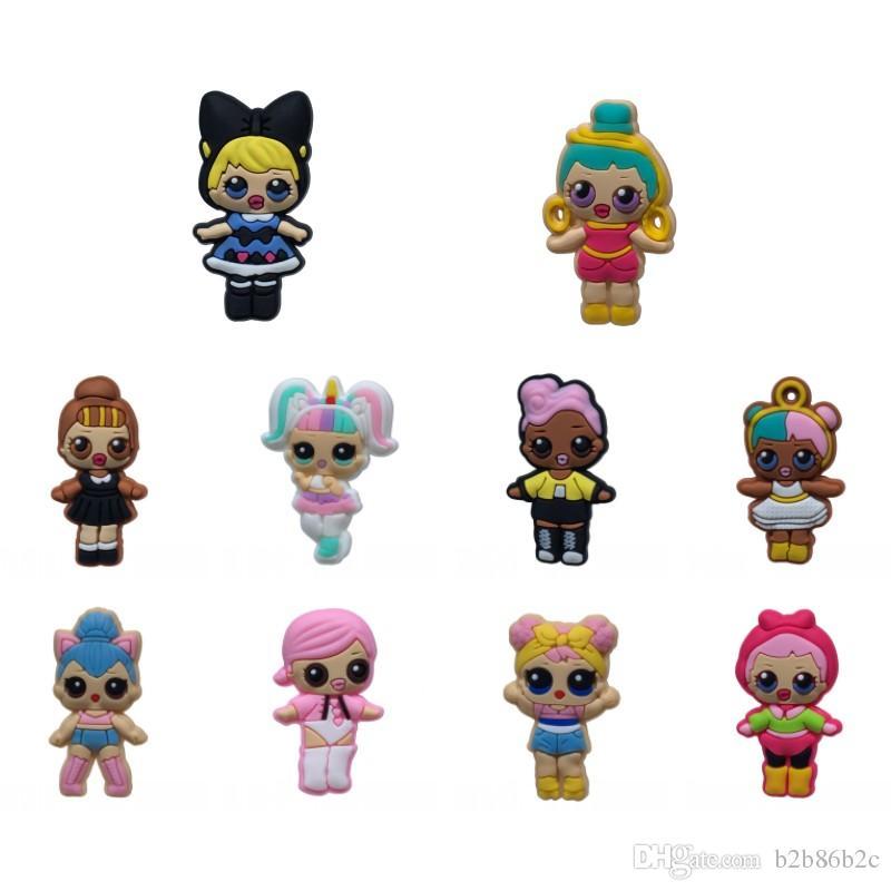 Compre Muñecas Kawaii Figura Caliente Imanes De Nevera Para Niñas