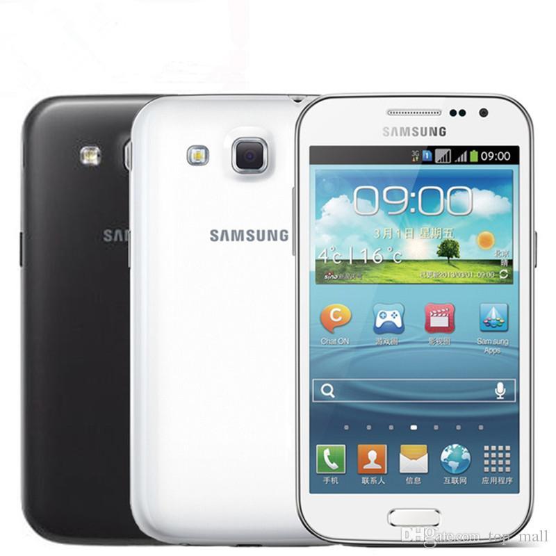 "Orijinal Samsung Galaxy Win Duos I8552 Android 4GB ROM WiFi, GPS Dört Çekirdekli 4,7"" Dokunmatik Ekran Cep Telefonu Yenilemeye"