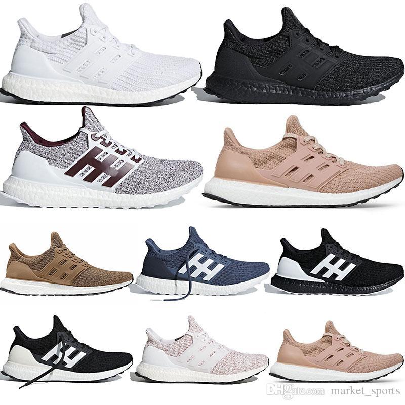 Outdoor Ultra Boost 4.0 baskets de designer chaussures de course pour hommes, femmes marine, multicolore, pêche, cendre, montrer vos rayures, noir