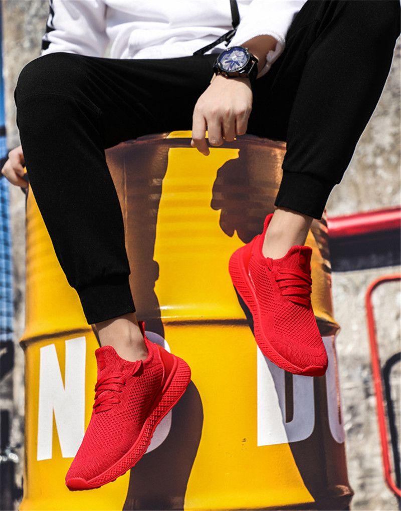2020 الساخن بيع الربيع والخريف النسخة الكورية جديد من الجزر غير قابل للانزلاق مقاومة للاهتراء الرياضية تنفس أحذية الرجال عارضة مريحة ل
