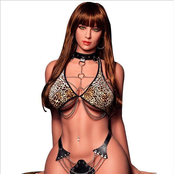 Top quality sexy desire silicone leopard print sex dolls big breasts lifelike love dolls real vagina ass sex dolls for men adult sex toys