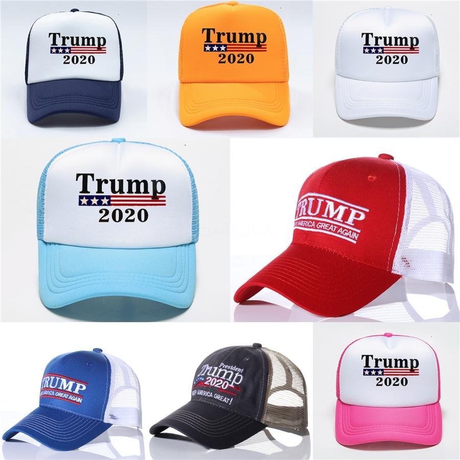 Amérique 5 Camo Donald Trump Make 2020 Styles Cap Grande Encore une fois Hat Caps Broderie 3D Menqchr # 982