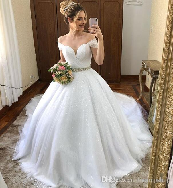 Discount Beautiful Fairy Holy Ball Gown Wedding Dress Off The