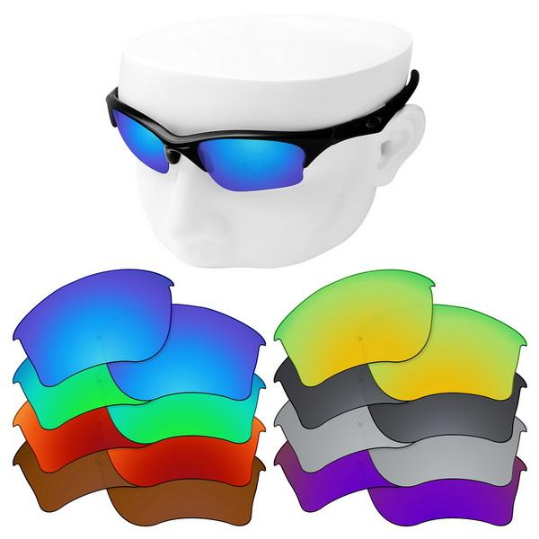 OOWLIT Polarizada lentes de substituição para- Metade XLJ Sunglasses