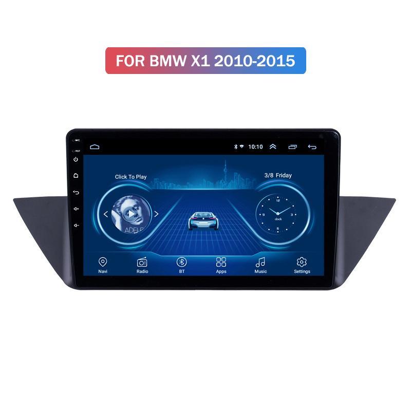 Android 10 Car System Stereo tela IPS de toque para o BMW X1 2010-2015 Anos Stereo Suporte SWC Carplay