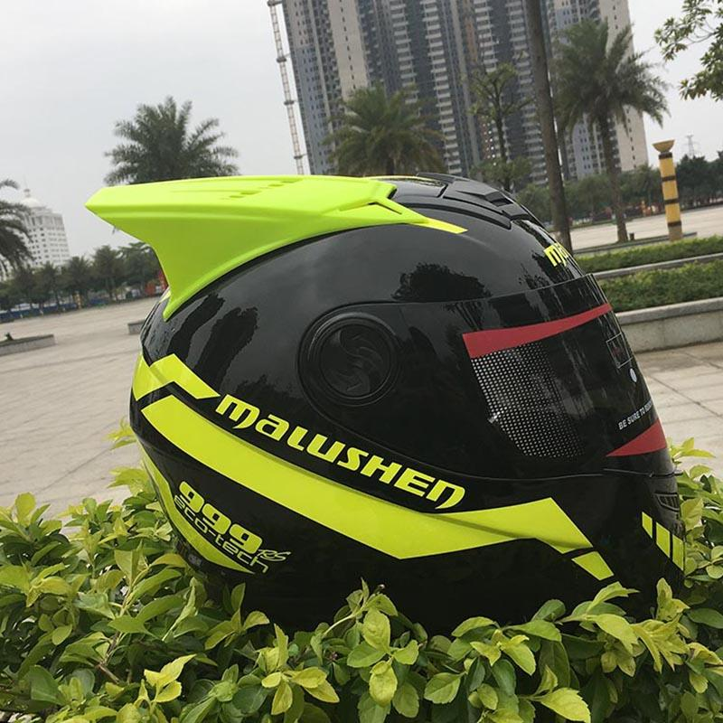 Motorcycle helmet Tau Noire full face helmet off road casque casco professional rally racing Oxhead