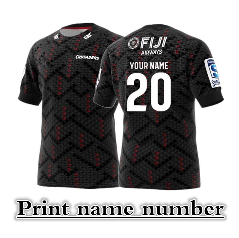 2020 CRUSADERS Super Rugby In casa Fuori casa FORMAZIONE MAGLIA Taglia: S - XXXL - 5XL nome di stampa personalizzata e il numero di La qualità è perfetta. Consegna gratuita