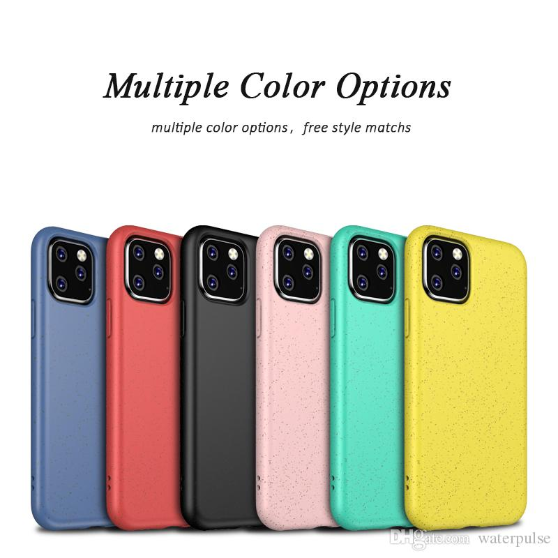 Силиконовые Мягкий ТПУ чехол для iPhone 11 Pro MAX XS MAX XR 7Plus / 8Plus 7/8 X / XS Dirt-Противоударная Обложка