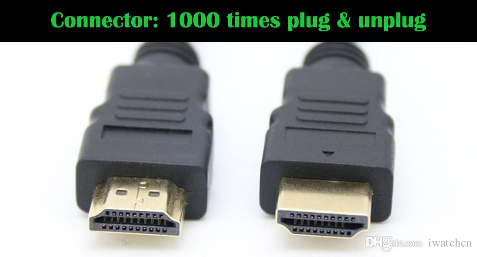 4.92FT 150cm 9.84FT 300cm 1.4V 4K HDMI Cable with Ethernet Male to Male Cable 1.4V 3D 1080P 4K * 2K